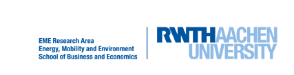 Logo of Research Area Energy, Mobility and Environment